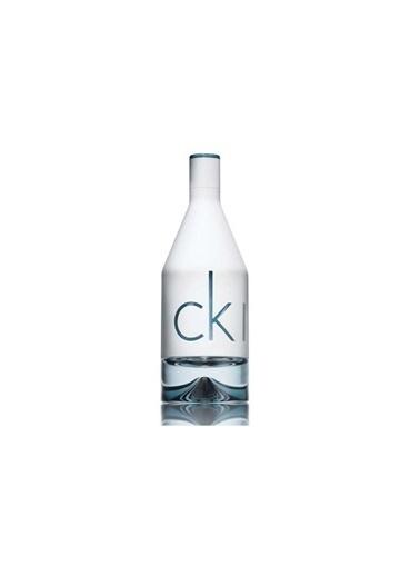 Calvin Klein Calvin Klein in2u EDT 100 ml Kadın ve Erkek Parfüm 2'li Set Renkli